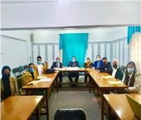 تعليم المنوفيةيشارك في فعالياتالمؤتمر الأول لاتحاد طلاب الجمهورية