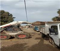 رفع 160 طن قمامة من قرى مركز الشهداء بالمنوفية