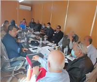 مجمع خدمات ومصالح خلال مبادرة «حياة كريمة» في قري المنوفية