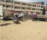 استمرارا متابعة الأبنية التعلمية في قرى شبين الكوم بالمنوفية