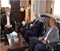 محافظ الأقصر يبحث سبل التعاون مع رئيس الأكاديمية العربية للنقل البحري