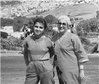 في عيد الأم.. سحر نصر تنشر صورة بـ«الأبيض والأسود» مع والدتها الراحلة