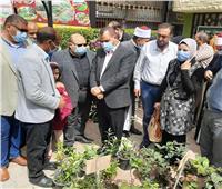 رئيس مدينة كفر الدوار يفتتح معرض الزهور الأول