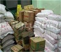 النيابة تأمر بالتحفظ على 2 طن سكر و زيت تموينى بالقاهرة