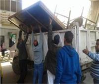 تحرير 868 محضر إشغال طريق بالجيزة