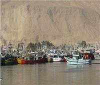 بسبب سوء الأحوال الجوية.. توقف حركة الملاحة بميناء البرلس