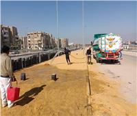 غنيم: تكثيف أعمال تطوير الطرق والمحاور الرئيسية بالقاهرة الجديدة