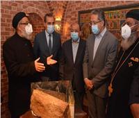 وزير التنمية المحلية يفتتحأعمال تطوير مسار العائلة المقدسة بكفر الشيخ