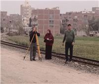 القيام بأعمال الرفع المساحي للمواقع الخدمية لتطوير قرى المنوفية