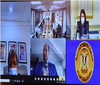 وزيرة التعاون الدولي ترأس الاجتماع التحضيري للجنة العليا المصرية الأردنية المشتركة