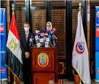 وزيرة الصحة: قريبا فرض شرط تلقي اللقاحات على المسافرين لخارج مصر