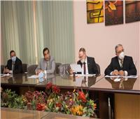 إجراء مقابلات شخصية لاختيارات القيادات الإدارية بجامعة طنطا
