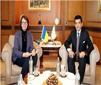 المدير العام لمنظمة العالم الإسلامي للتربية والعلوم والثقافة يستقبل سفيرة أوكرانيا في الرباط