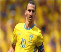 تعرف على أبرز أرقام «إبراهيموفيتش» بقميص منتخب السويد