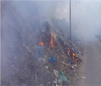 السيطرة على حريق في العباسية دون وقوع إصابات