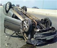 إصابة شخصين في حادث إنقلاب سيارة بـ«إدفو»
