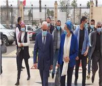 محافظ بورسعيد يستقبل وزيرة البيئة لمتابعة تطبيق منظومة تدوير المخلفات