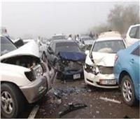 مصرع شخصين وإصابة 13 في تصادم مروع بالشرقية