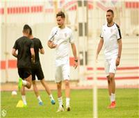 تدريبات استشفائية للاعبي الزمالك استعداداً لمولودية الجزائر