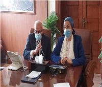 وزيرة البيئة تشيد بتجربة النظافة وتدوير القمامة ببورسعيد