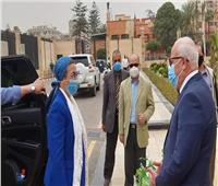 وزيرة البيئة تبحث مع محافظ بورسعيد تحديث منظومة المخلفات وتحويلها لطاقة