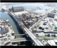 10 صور ترصد تنفيذ وصلة حرة لربط ميناء الإسكندرية بالطريق الدولي الساحلي