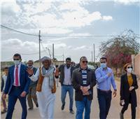 نائب محافظ الإسكندرية تبحث تنفيذ مشروعات «حياة كريمة» ببرج العرب