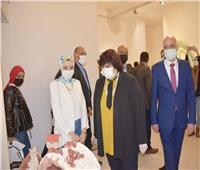 وزيرة الثقافة تفتتح الدورة 31 لصالون الشباب بقصر الفنون وتعلن جوائزه