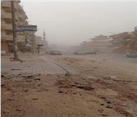 رياح باردة وعواصف مثيرة للرمال والأتربة في شمال سيناء