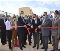رئيس جامعة الإسكندرية يفتتح مجمع الملاعب الجديد