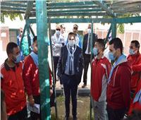 استمرار المعسكر الدراسي الكشفي للترببة الرياضية بسوهاج