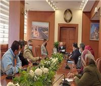 محافظ بورسعيد يشدد على تطبيق الإجراءات الاحترازية لمواجهة كورونا
