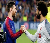 تقارير فرنسية: محمد صلاح فى باريس سان جيرمان حال تجديد ميسى  لبرشلونة