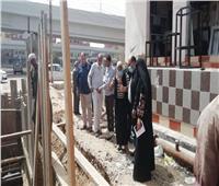 رئيس مياه القناة يتابع مشروعات الصرف الصحى ومياه الشرب بـ«الإسماعيلية»