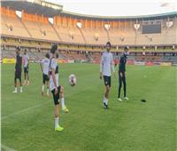 المنتخب الوطني يختتم تدريباته استعدادا لمواجهة كينيا | صور