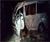 مصرع وإصابة 8 أشخاص بحادث تصادم سوزوكي بدراجة بخارية في «بني سويف»