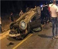 مصرع شخص وإصابة آخر في انقلاب سيارة ملاكي بوادي النطرون