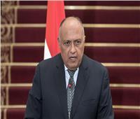 وزير الخارجية يحذر إثيوبيا: «عليها الابتعاد عن التصريحات العدائية»