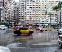 أمطار خفيفة في الإسكندرية.. واستمرار توقف الملاحة البحرية