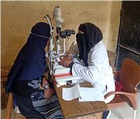 توقيع الكشف الطبي على 276 مواطنا في قافلة طبية ببني سويف