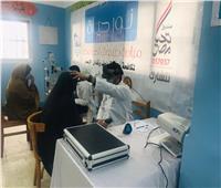 مبادرة «نور حياة» تجري الكشف الطبي للعيون على 14 ألف مواطن خلال شهر مارس.. صور