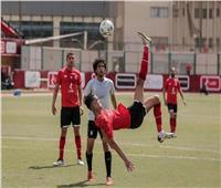 بدر بانون يسجل هدفا رائعا في ودية الأهلي أمام فريق الشباب| فيديو