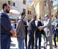 وزير القوى العاملة يشارك في تشييع جثمان نائب رئيس اتحاد عمال مصر |صور
