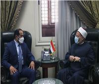 المفتي لسفير الإمارات بالقاهرة: العلاقات المصرية الإماراتية في تقدم وازدهار