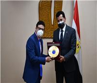 وزير الرياضة يُكرم الأبطال الرياضيين من أصحاب الهمم