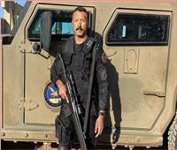 أحمد فهمي ينشر أول صورة من كواليس «الاختيار2»