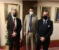 وزير الخارجية يستقبل نقيب الأطباء لبحث مشاكل الأعضاء المغتربين