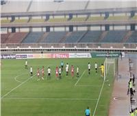 انطلاق الشوط الثاني من مباراة مصر وكينيا «بث مباشر»