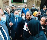 محافظ الإسكندرية يُوجِّه بفصل مرافق عقار غربال المنهار
