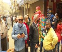 ضبط 168 مخالفة تموينية في حملة بأسواق المنيا